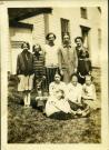 Bessie Greenblatt's class, Westport Island, ca. 1930