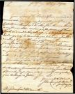 Letter to Peleg Wadsworth from John Campbell, Aug. 14, 1780