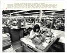 Bass Shoe Co. factory, Wilton, 1981