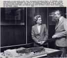Elizabeth Bottomley Noyce and Dr. Paul Silverman, Orono, 1981