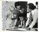 Legislative leaders confer, Augusta, 1982