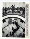 Entertaining legislators, Augusta, 1982