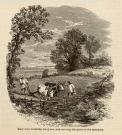 The Courtship of Miles Standish illustration, ca. 1880
