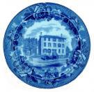 Longfellow birthplace plate, ca. 1910