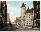 Water Street and Post Office, Augusta, ca. 1910