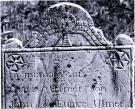 Caleb Ulmer headstone, Rockland, 1795