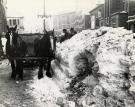 Snow removal, Portland, 1923