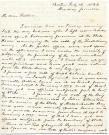Letter from Albion K. Parris to his father, 1832