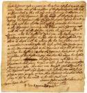 Deposition of Gathritt Spencer, 1668