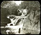 Alder Stream Falls, Dead River, ca. 1900