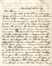 Abraham Lincoln letter, 1849