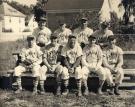 Lamoine Baseball Team, 1952