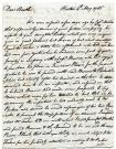 Theodore Barrell to brother, 1785