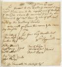 William Pepperrell on debt settlement, 1748