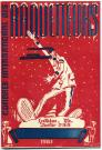 Program, International convention of snowshoe clubs, Lewiston, 1961