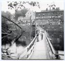 Temporary Foot Bridge, Guilford, 1954