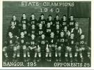 Football Team, Bangor, 1940