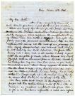 Josiah and Daniel Pierce letter about Michigan, 1846