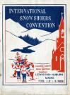 Snowshoe convention program, Lewiston-Auburn, 1929