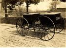Roy Flanders' milk wagon, Lincoln, ca. 1910