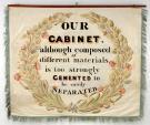 Cabinet makers' trade banner, Portland, 1841