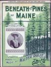 'Beneath the Pines of Maine,' Boston, 1901
