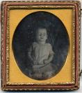 Johnnie Crockett post-mortem portrait, ca. 1850