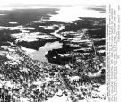 Aerial view of Ellsworth, 1980