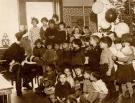 Santa Claus visits North School, Portland, ca. 1920