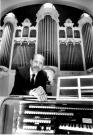 Municipal organist Gerald McGee, Portland, ca. 1986