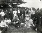 Swami Vivekananda and guests at Green Acre