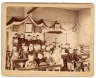Children inside Danville Corner School