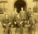 Forest Paper Company office force, Yarmouth, ca. 1885