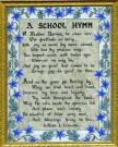Farmington State Normal School Hymn Painting, ca. 1914
