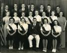 Installation of Officers in the Aurora Grange, Strong, ca. 1947