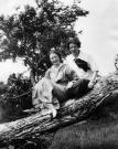 Edna St. Vincent Millay and Corinne Sawyer, Camden, ca. 1909