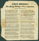 Free Bridge Broadside, Portland, 1837