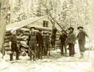 Hunting camp, Limestone, ca. 1912