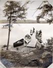 Girls Camp, Great Lake, Belgrade, ca. 1910