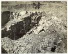 Abandoned Quarry Reopens, Barnard, 1951