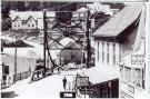 "Steel draw bridge over the ""Gut,"" South Bristol, ca. 1926"