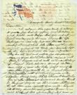 Civil War soldier's letter home, Oct. 1861