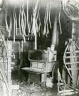 Mellie Dunham snowshoe workshop, Norway, ca. 1915