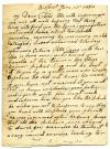 Letter to Sarah Tarbox from her mother, 1838