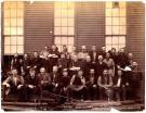 Blacksmith shop employees, Portland Company, 1887