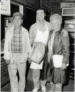 William S. Cohen with parents Reuben and Clara Cohen, Bangor, ca. 1984
