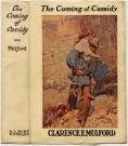 'The Coming of Cassidy' book jacket, 1913
