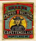 E.D. Pettengill Company Trademark for Shaker Pepper Relish