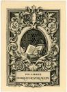 Charles Dexter Allen bookplate, 1899