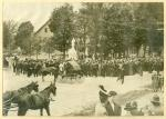 Civil War monument dedication, Bethel, 1908